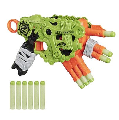 NERF Zombie Strike Alternator Blaster