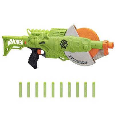 NERF Zombie Strike Ghoul Grinder Blaster