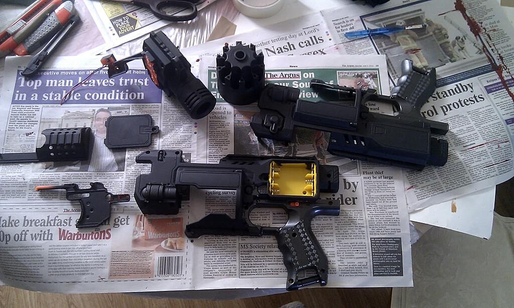 painting-nerf-gun-primer